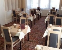 Newly refurbished dining room